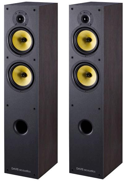 Paire d'enceintes colonnes 3 voies - 120W Davis acoustics Appolonia