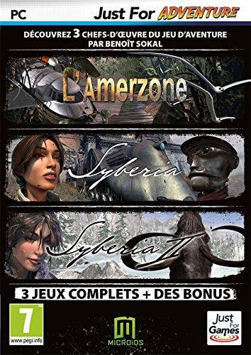 Pack Syberia - L'Amerzone + Syberia 1 & 2 + B.O. de Syberia 2 + Trailer Syberia 3 sur PC