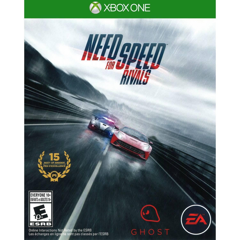 Sélection de jeux vidéo Xbox One en promotion - Ex : Need for Speed: Rivals