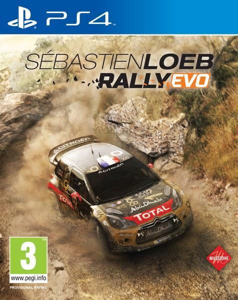 Sébastien Loeb Rally Evo sur PS4