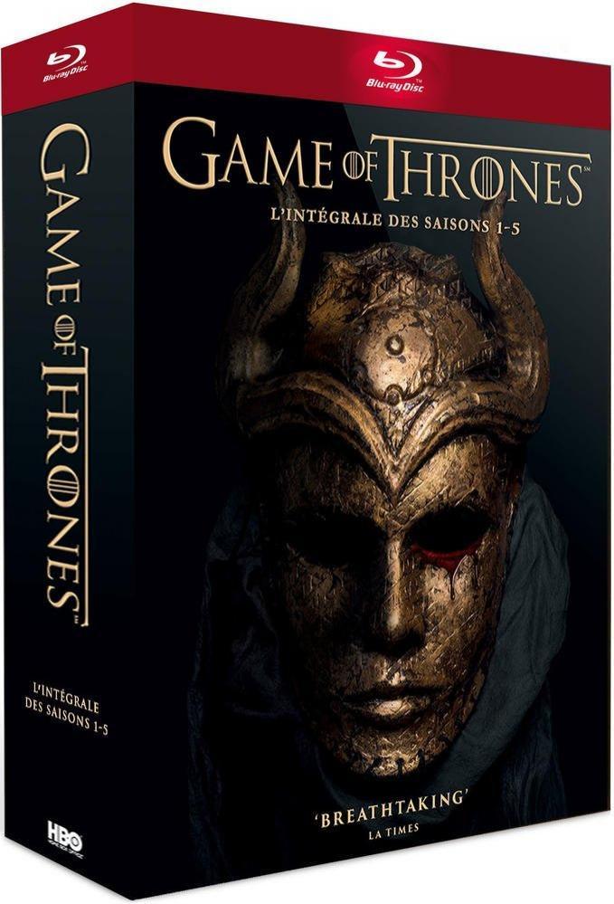 Coffret Blu-ray : Game of Thrones : L'intégrale des saisons 1 à 5