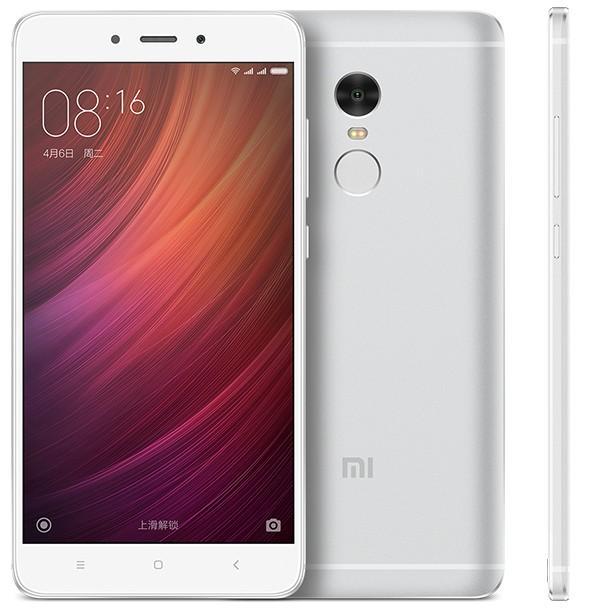 "Smartphone 5.5"" Xiaomi Redmi Note 4 Silver - Helio X20, RAM 3 Go, ROM 64 Go"