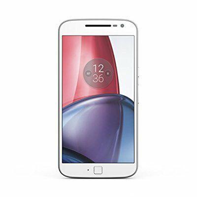 "Smartphone 5.5"" Lenovo Motorola Moto G4 Plus - RAM 2 Go, ROM 16 Go, Double Sim, Blanc"