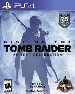 Rise of the Tomb Raider : 20 Year Celebration sur PS4