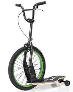 Trottinette  Sbyke P20 Noir/Lime Green