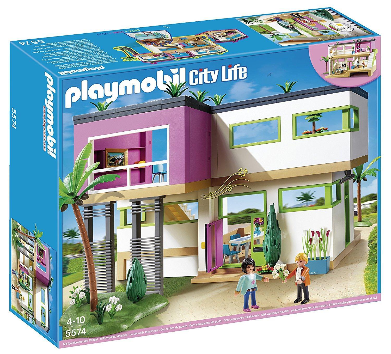 Sélection de jouets Playmobil en promotion - Ex : Maison moderne (5574)