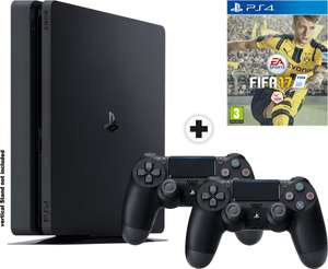 Console Sony PS4 Slim1To + 2ème manette + Jeu Fifa 17