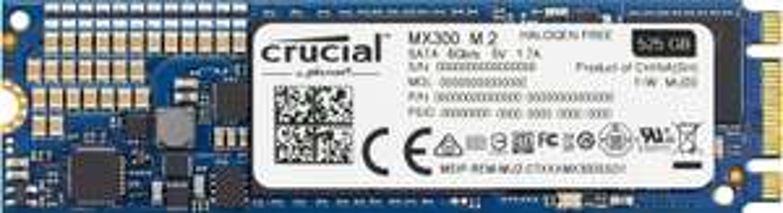 SSD interne M.2 2280 Crucial MX300 (TLC 3D) - 275 Go