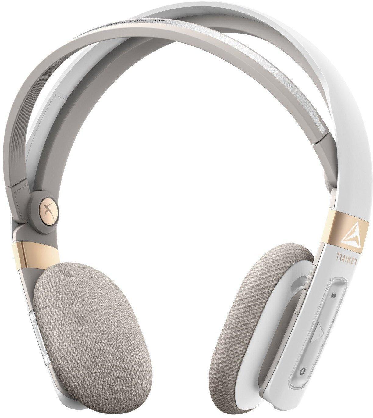 Casque Audio Sans-fil Trainer By Gibson TH100WT Blanc pour le Sport - Bluetooth