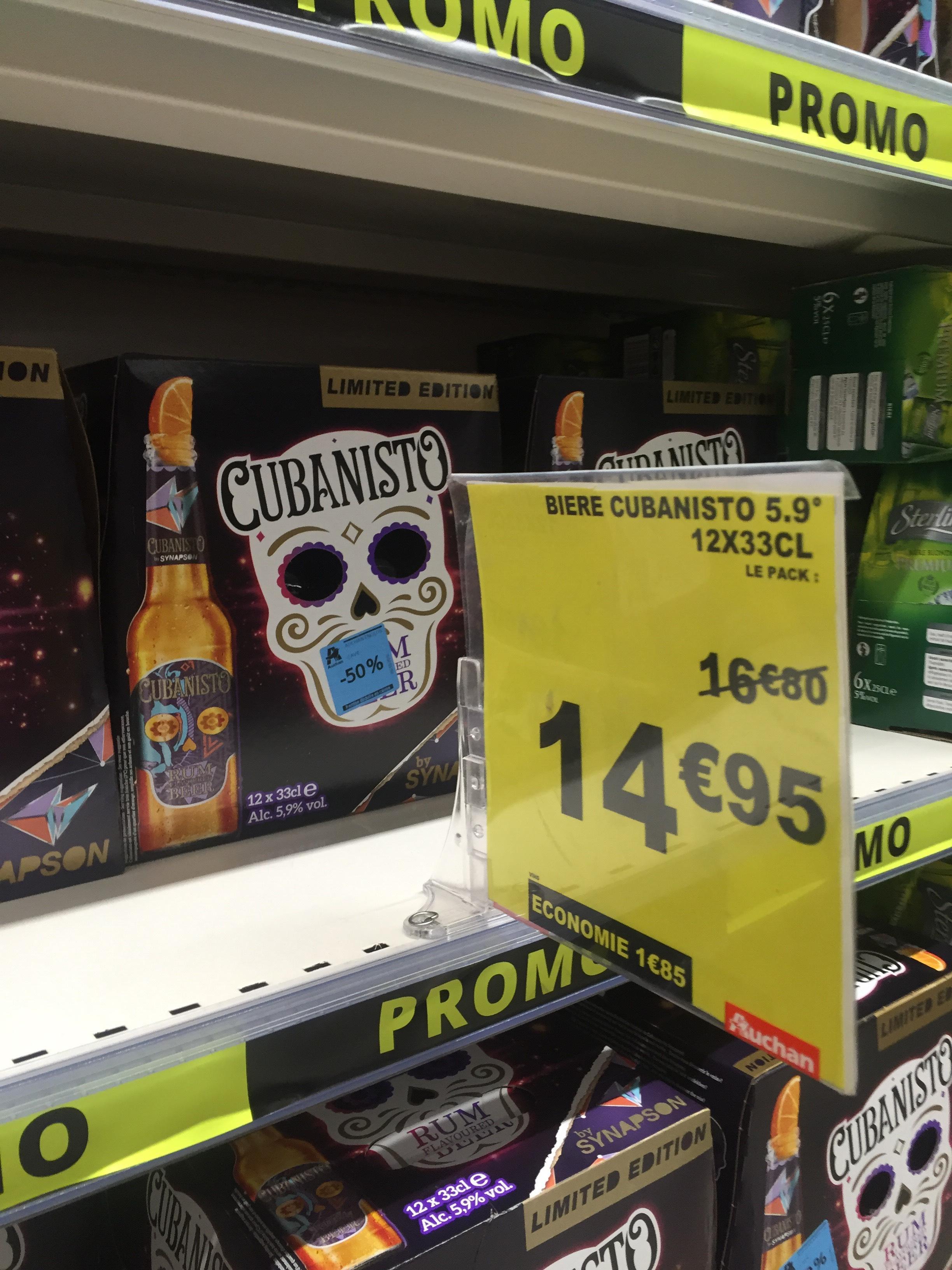 Pack de 12 x 33cl de bière Cubanisto