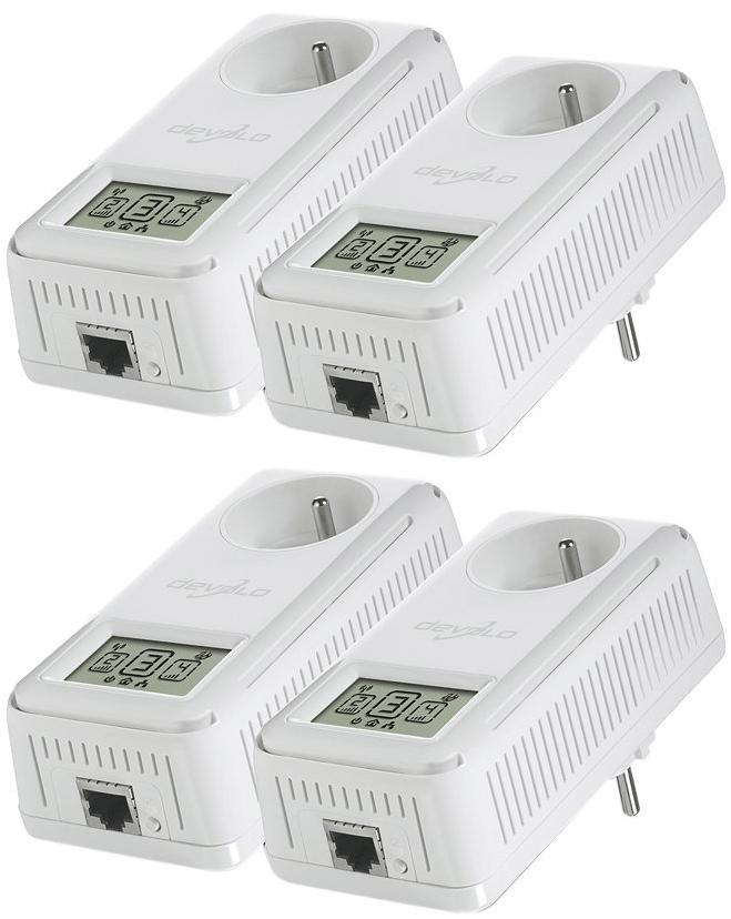 Pack de 4 CPL Devolo dLAN 200 AV Smart+