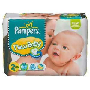 240 Couches Pampers New baby Taille 2