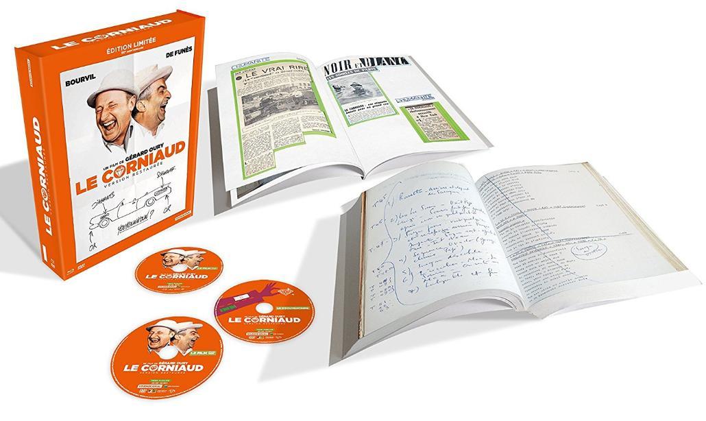Coffret Blu-ray+DVD : Le Corniaud - Édition Limitée 50ème Anniversaire
