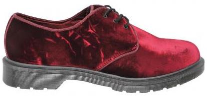 Chaussures à lacets Dr Martens Rouge