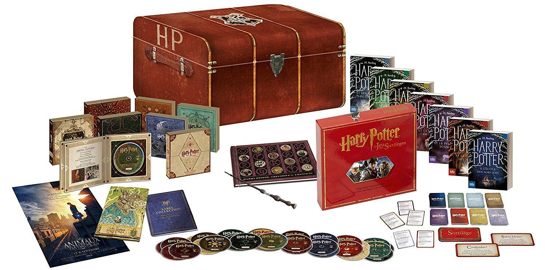 Coffret Combo Blu-ray DVD Harry Potter - L'intégrale Edition Prestige limitée et numérotée