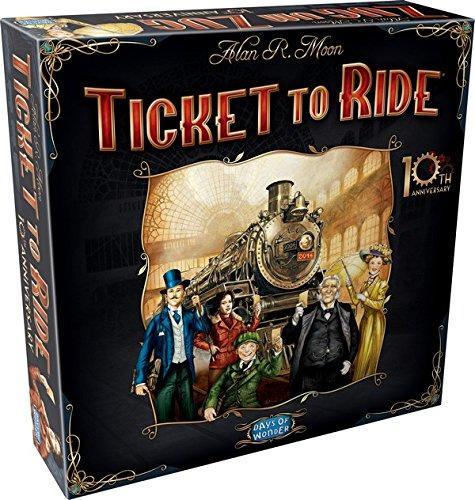 Jeu de Stratégie Asmodee Ticket to Ride - 10th Anniversary Edition