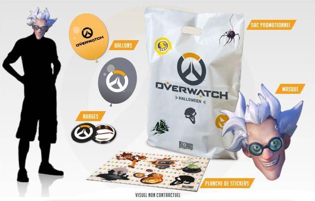 Un sac de goodies Overwatch offert pour Halloween
