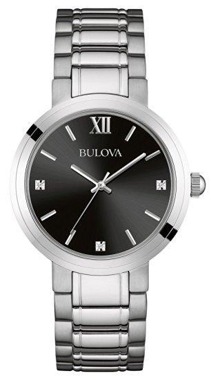 Montre Bulova pour Homme - Quartz - Analogique - Bracelet Acier inoxydable argent