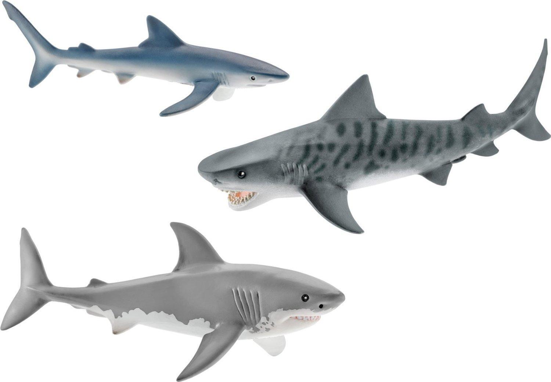 Figurine Schleich set 3 requins