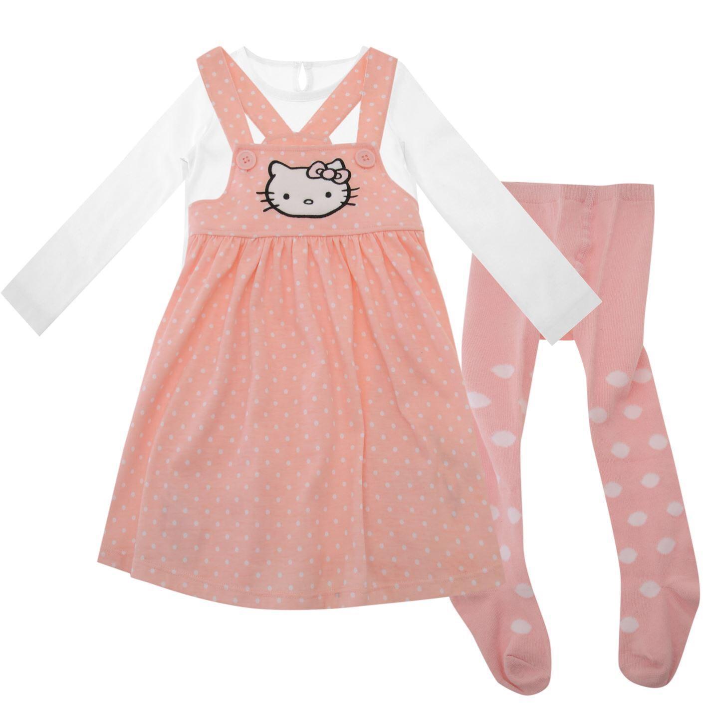 Sélection de vêtements pour bébés en promotion - Ex : Ensemble Hello Kitty 3 pièces