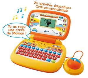 Mini ordinateur pour enfant Vtech Genius Malice Connect orange