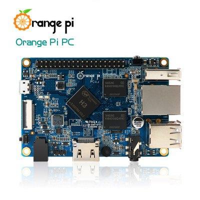 Mini-PC Orange Pi PC - Quad-core Cortex-A7 1.6GHz, RAM 1Go