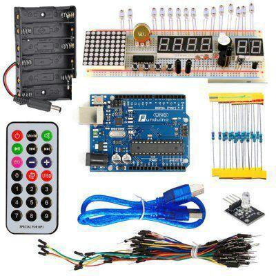Kit de démarrage Arduino Uno KT003
