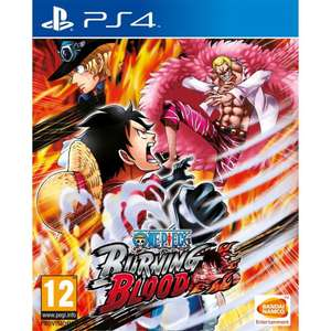 Sélection de Jeux en promotion - Ex: One Piece Burning Blood sur PS4 ou Xbox One