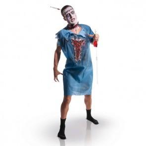 Sélection de déguisements d'Halloween en promotion - Ex : patient zombie (Adulte)