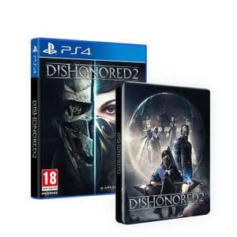 Dishonored 2 + Steelbook sur PC à 39,99€ et sur PS4 ou Xbox One