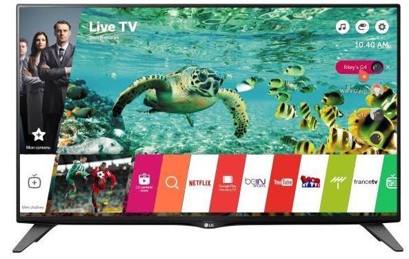 """TV 58""""  LG 58UH630 LED 4K HDR - Smart TV"""