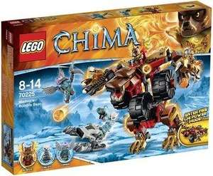 Jouet Lego Legends of Chima - L'Ours de Bladvic (70225)