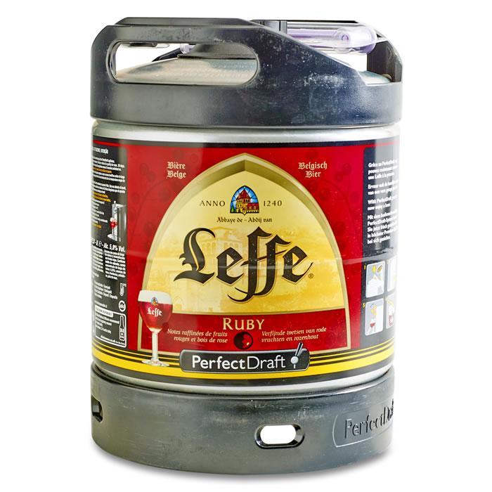 Fût de bière PerfectDraft Leffe Ruby - 6 L (via 11.75€ en Olé)