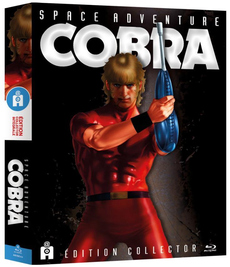 Sélection de coffrets Blu-ray en promotion - Ex : série TV Space Adventure Cobra (Édition Collector)