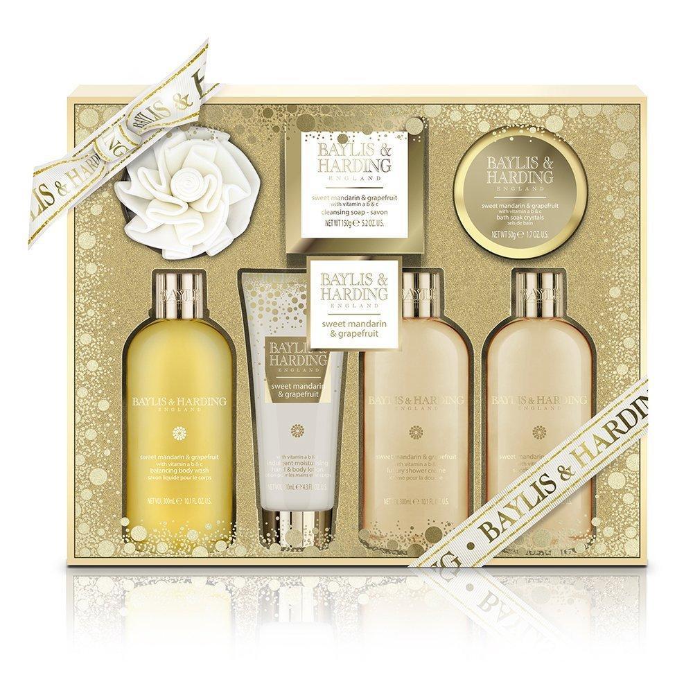 Coffret de Bain Baylis & Harding PLC Cadeau For Her - Doux Mandarin & Pamplemousse Ultime