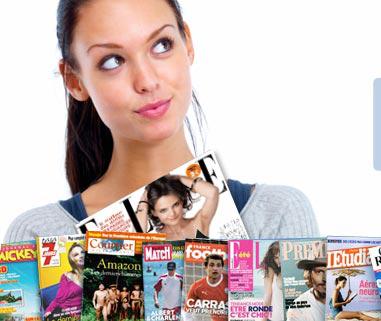 15€ de remise immédiate sur de nombreux magazines