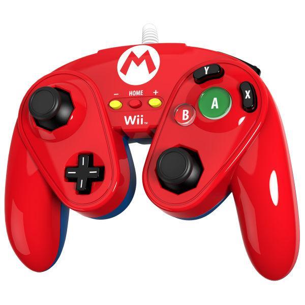 Manette filaire pour Wii U PDP - Super Smash Bros (rouge)