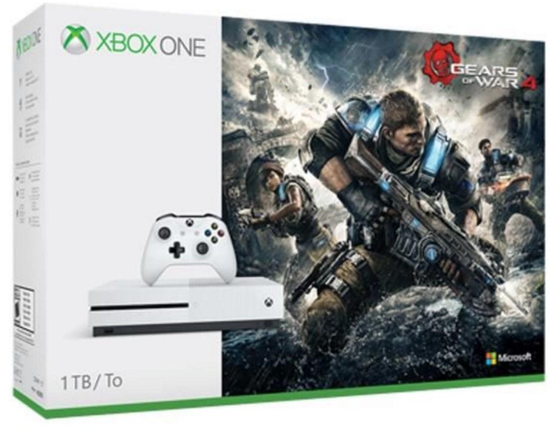 [Adhérents] Console Xbox One S 1 To + Gears Of War 4 + Gears Of War Collection + 30€ crédité sur le compte fidélité (80€ pour les membres Fnac+)