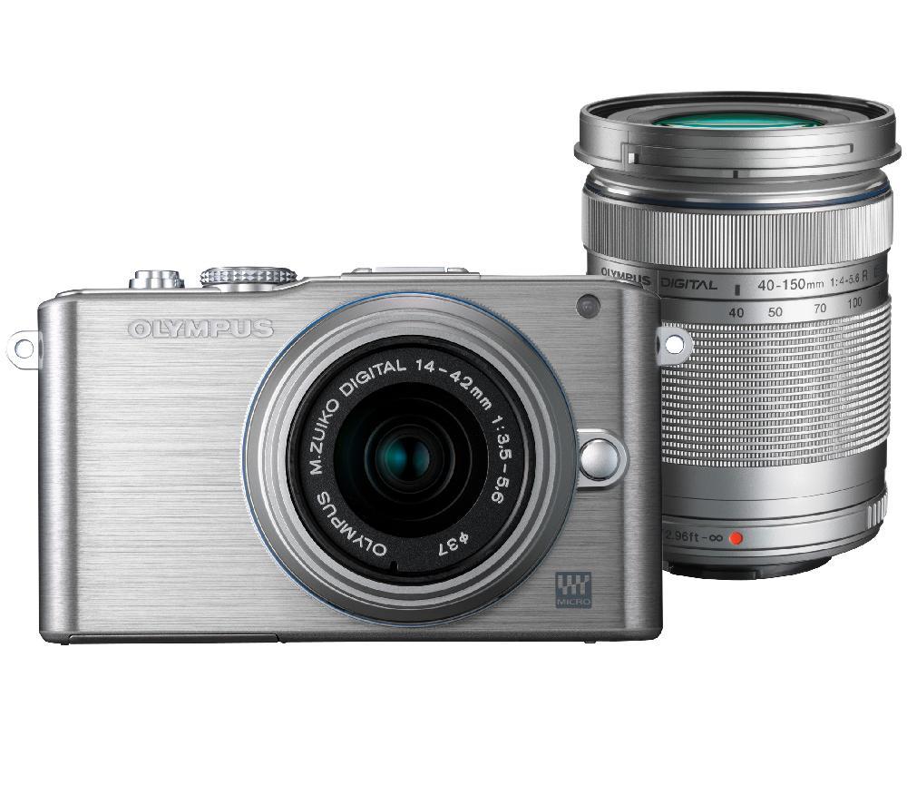 Appareil Photo Hybride Olympus Pen EPL3 + Objectifs 14-42 et 40-150 mm