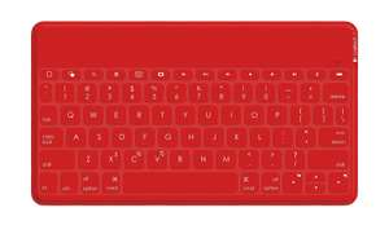 Clavier bluetooth étanche Logitech Keys To Go - Rouge, iOS