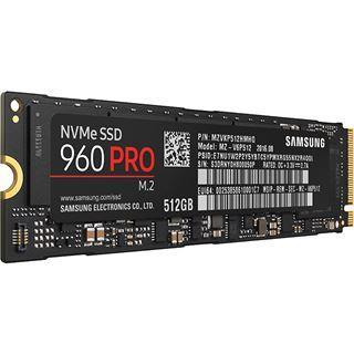 SSD interne M2 NVMe 1.2 PCIe 3.0 4x Samsung 960 Pro (V-NAND MLC) - 512 Go