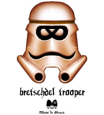 15% de réduction sur tout le site - Ex: tee shirt Bretschdel trooper
