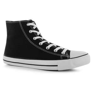 Baskets Lee Cooper Hans Canvas Hi Top - Noir ou bleu