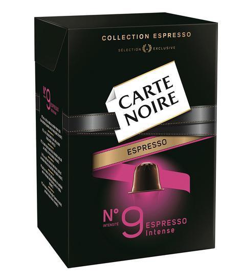 Sélection d'articles en promotion - Ex: 2 boîtes de café Carte Noire Capsules Espresso gratuites (via 2.8€ sur la carte + BDR)