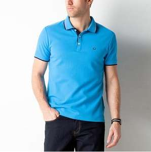 Polo Brice coupe droite - Couleur turquoise (Taille M)