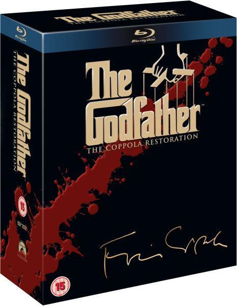 Coffret Blu-ray La trilogie du Parrain : Coppola Restoration (en VOSTFR)
