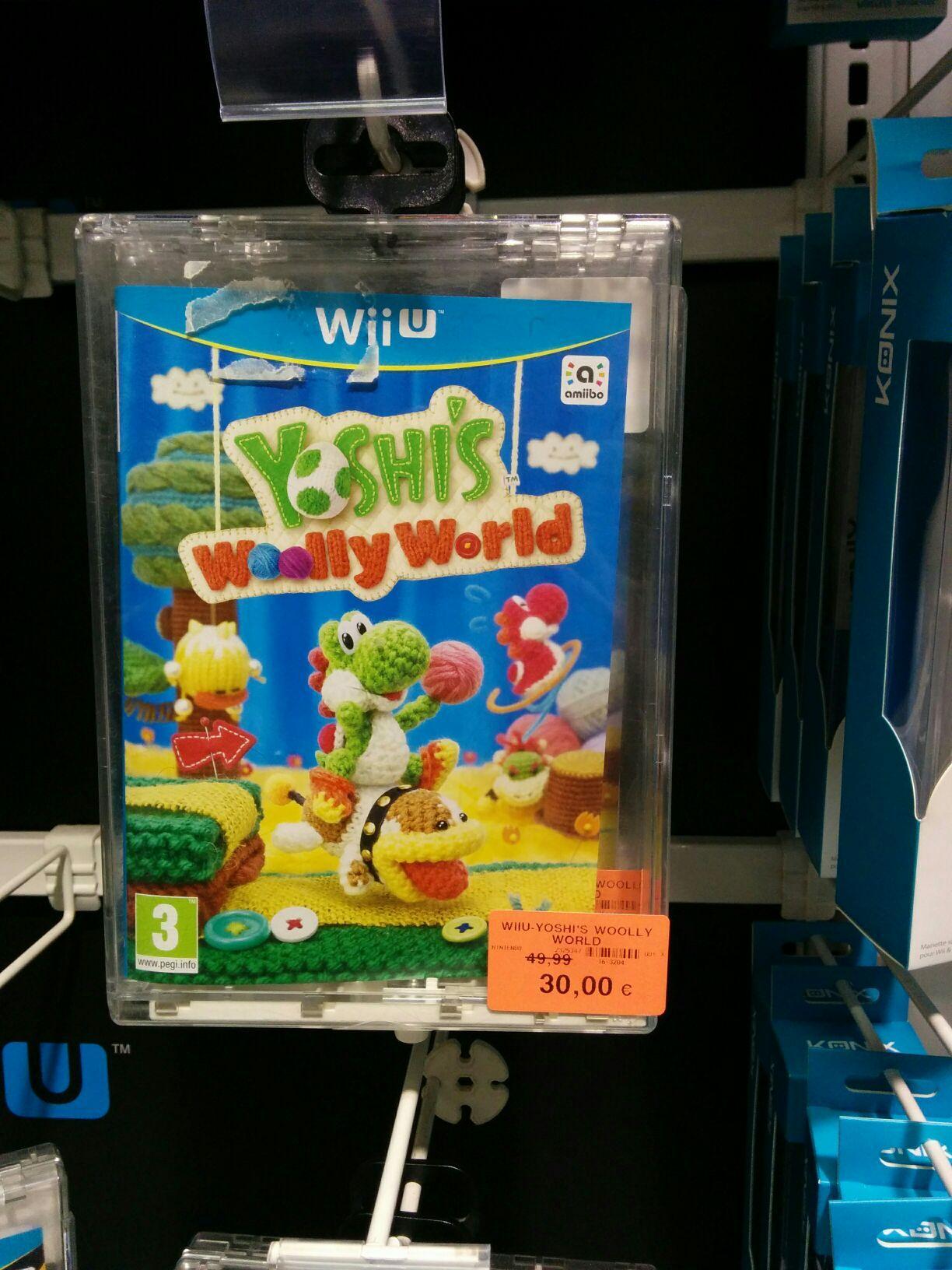 Jeu Yoshi Wooly World sur Wii U