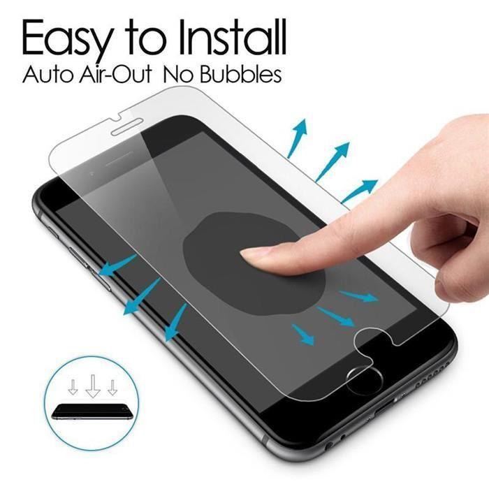 Protège écran en verre trempé iPhone 7 Plus