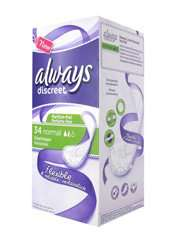 Un pack Always Discreet x34 Normal acheté, 1 offert