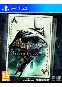 Batman : Return To Arkham sur Xbox One et PS4